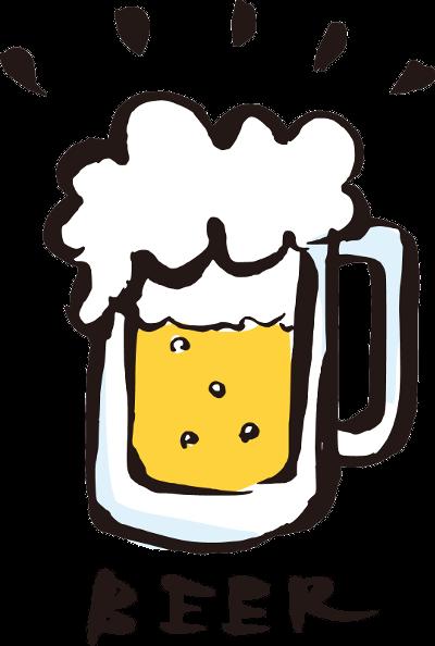 胃切除後のビール
