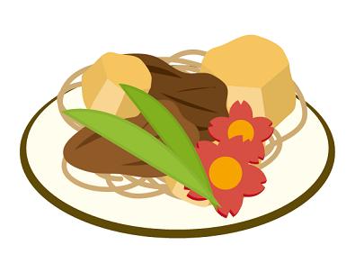 綺麗な煮物の画像 おいしいやわらか介護食