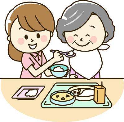 介護 正しい食事の姿勢 誤嚥防止