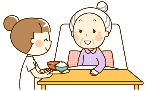 食事介助♪おいしいやわらか介護食