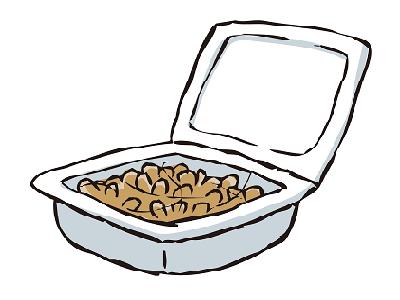 納豆のイラスト画像