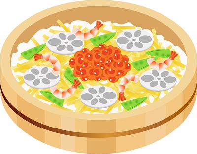 介護食のちらし寿司