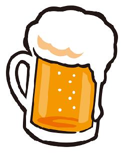 ビールのイラスト画像