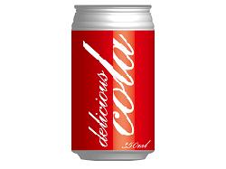 コーラのイラスト画像