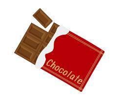 チョコレートのイラスト画像