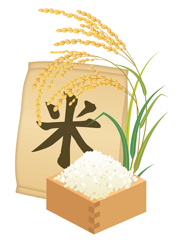 お米のイラスト画像