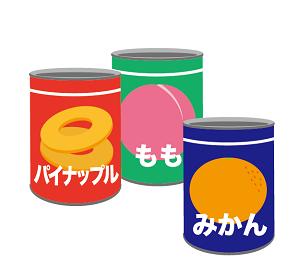 果物の缶詰