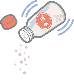 食塩のイラスト画像